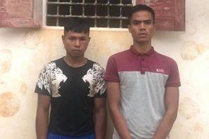 Gia Lai: Bắt giữ 2 đối tượng cướp giật tài sản