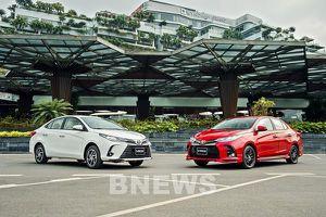 Toyota Việt Nam có doanh số bán xe tăng 96%