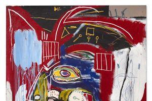 Bức tranh 'In this case' của cố họa sĩ Jean-Michel Basquiat được bán với mức giá cao 93,1 triệu USD