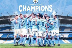 Man City chính thức vô địch Premier League 2020/21