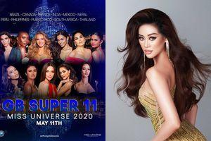 Fan khó hiểu khi Global Beauties tiếp tục đánh rớt Khánh Vân khỏi Top 11 Super tại Miss Universe 2020