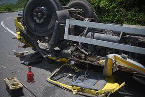 Bình Định: Tai nạn giao thông trên đèo Cù Mông, hai người chết
