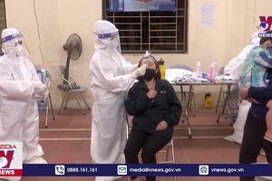 Xét nghiệm SARS-CoV-2 lần 2 cho người dân xã Mão Điền