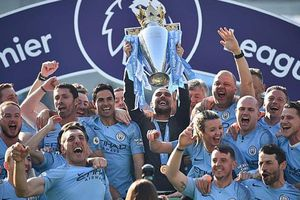 Man City chính thức lên ngôi vô địch Ngoại hạng Anh