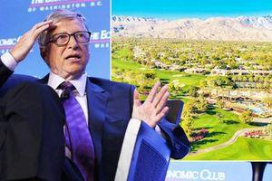Tỷ phú Bill Gates trú tại CLB golf siêu xa hoa trong nhiều tháng nhằm tránh 'bão ly hôn'