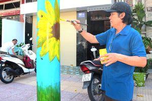 Vẽ tranh, trồng hoa làm đẹp phố phường