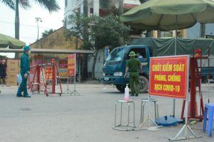 Các chốt kiểm soát dịch Covid-19 ở Thuận Thành là 'lá chắn' ngăn chặn dịch bệnh lây lan