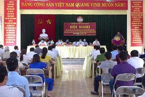 Phong trào thi đua 'đi bầu đủ, đi bầu sớm' ở Yên Bái