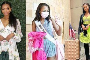 Trong khi Khánh Vân, Amanda váy áo sang chảnh thì Hoa hậu Mỹ lại giản dị đến khó tin