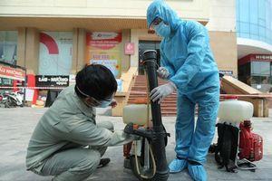 Phong tỏa tòa chung cư Hồ Gươm, nơi ở của bệnh nhân dương tính với SARS-CoV-2