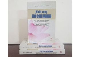 Xuất bản sách mới về Chủ tịch Hồ Chí Minh