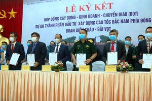 Dự án PPP thứ hai của cao tốc Bắc - Nam chính thức ký hợp đồng