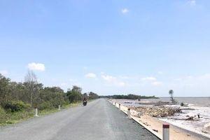 Tiền Giang: Khánh thành đưa vào sử dụng dự án nâng cấp đê biển Gò Công