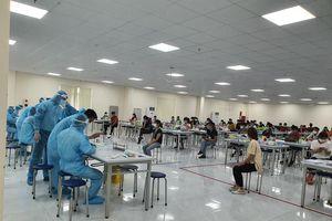 Nỗ lực dập dịch trong khu công nghiệp ở Bắc Giang
