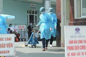 2 ổ dịch bệnh viện đã được kiểm soát