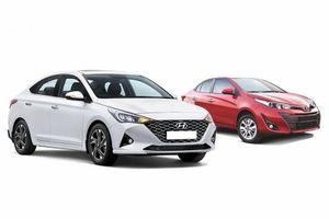 Phân khúc B tại Việt Nam: Hyundai Accent đang 'đè' Toyota Vios