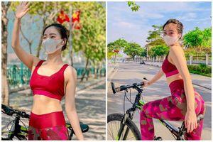 Lộ danh tính gái xinh bịt khẩu trang đạp xe đẹp xuất thần