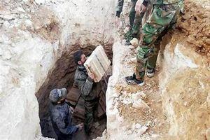 Nga phá nát căn cứ ngầm của khủng bố IS ở Syria