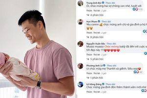 Dàn sao Việt chúc mừng Bảo Thanh hạ sinh con gái