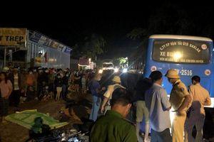 Đắk Lắk: Va chạm với xe buýt, 2 người thương vong