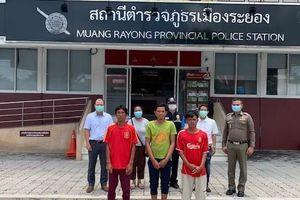 Đại sứ quán Việt Nam tại Thái Lan bảo hộ 5 ngư dân gặp nạn tại tỉnh Rayong