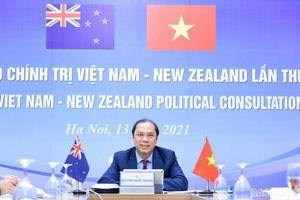 Việt Nam - New Zealand quyết tâm duy trì quan hệ tốt đẹp trong bối cảnh dịch Covid-19