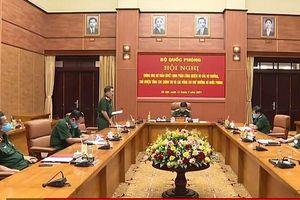 Thông qua dự thảo Quyết định phân công nhiệm vụ của Bộ trưởng, Chủ nhiệm Tổng cục Chính trị và các Thứ trưởng Bộ Quốc phòng