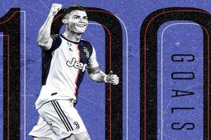 CR7 lập kỷ lục 'khủng' đi vào lịch sử bóng đá thế giới