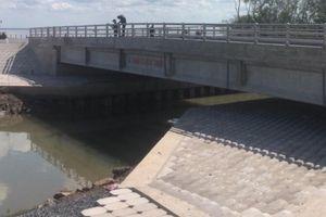 Khép kín tuyến đê biển Gò Công bảo vệ an toàn sản xuất vùng phía Đông Tiền Giang