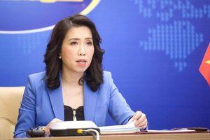 Việt Nam luôn theo dõi sát diễn biến trên Biển Đông và thực thi chủ quyền đối với các vùng biển của mình