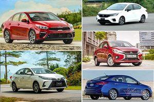 Xe sedan bán chạy tháng 4/2021: Kia Cerato đẩy Vinfast Lux A2.0 bật top