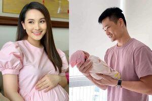 Gia đình Bảo Thanh chào đón bé gái 'thiên thần'