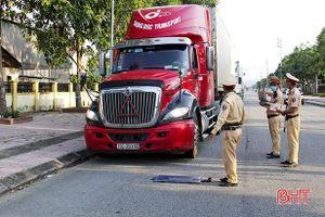 Hà Tĩnh: Chưa phát hiện xe quá tải trọng lưu thông trên tỉnh lộ 552