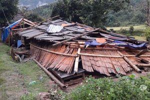 Gần 100 ngôi nhà ở Lai Châu bị sập và tốc mái do giông lốc