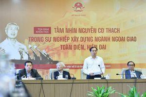 Học trò, trợ lý, nguyên Bộ trưởng Nguyễn Dy Niên kể về Ngoại trưởng Nguyễn Cơ Thạch