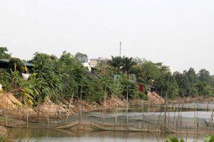 Hàng loạt công trình không phép bức tử sông Cà Lồ
