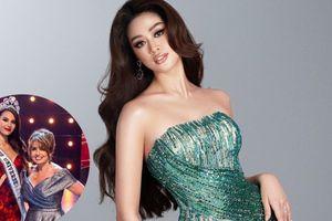'Bà trùm' Miss Universe 2020 tiết lộ về cơ hội chiến thắng của Khánh Vân