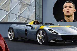 Cristiano Ronaldo thêm siêu phẩm Ferrari Monza SP2 vào bộ sưu tập siêu xe