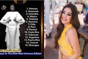 Khánh Vân được mệnh danh là nữ hoàng thời trang tại Miss Universe: Outfit xịn xò, thông điệp sâu sắc