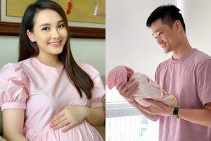 Nữ chính 'Về nhà đi con' Bảo Thanh khoe khoảnh khắc hạnh phúc của chồng và con gái mới sinh