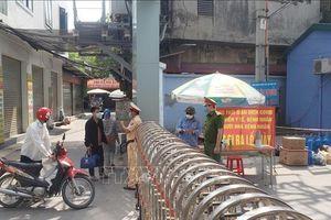 Vĩnh Phúc: Cách ly xã hội phường Hùng Vương (thành phố Phúc Yên)