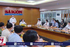 Chủ tịch nước thăm một số cơ quan báo chí lớn tại TP.HCM