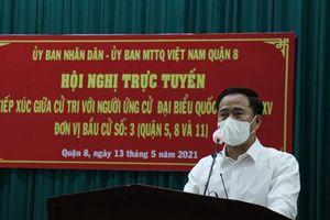 Cử tri gửi gắm nhiều tâm tư với ứng cử viên Đại biểu Quốc hội Lê Thanh Phong