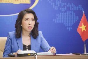 'Việt Nam theo dõi sát việc gần 300 tàu Trung Quốc xuất hiện ở Trường Sa'