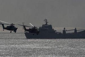 Mỹ và Ukraine tiến hành tập trận hải quân chung trên Biển Đen
