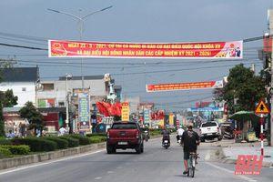 Huyện Hoằng Hóa tăng cường phòng, chống dịch bảo đảm an toàn cho ngày bầu cử