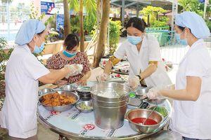 Mô hình điểm 'Bữa ăn học đường bảo đảm dinh dưỡng cho học sinh'