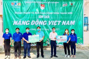 Khánh thành sân chơi năng động Việt Nam tại huyện Tịnh Biên