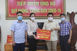 Lục Nam: Tiếp nhận 860 triệu đồng ủng hộ phòng, chống dịch Covid-19