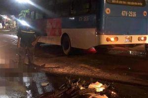 Xe máy tông xe buýt, hai thanh niên tử vong tại chỗ